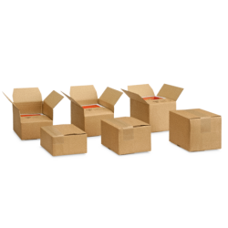 Cartons à hauteur variable et fond automatique