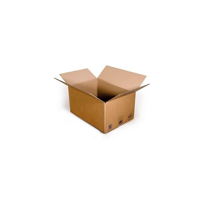 Pack de 25 Cartons Simple Cannelure Havane - Tiggre.fr