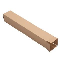 Carton carrée double cannelure