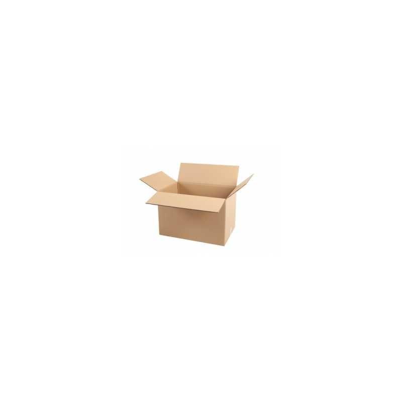 Pack de 10 Cartons Double Cannelure Havane - Tiggre.fr