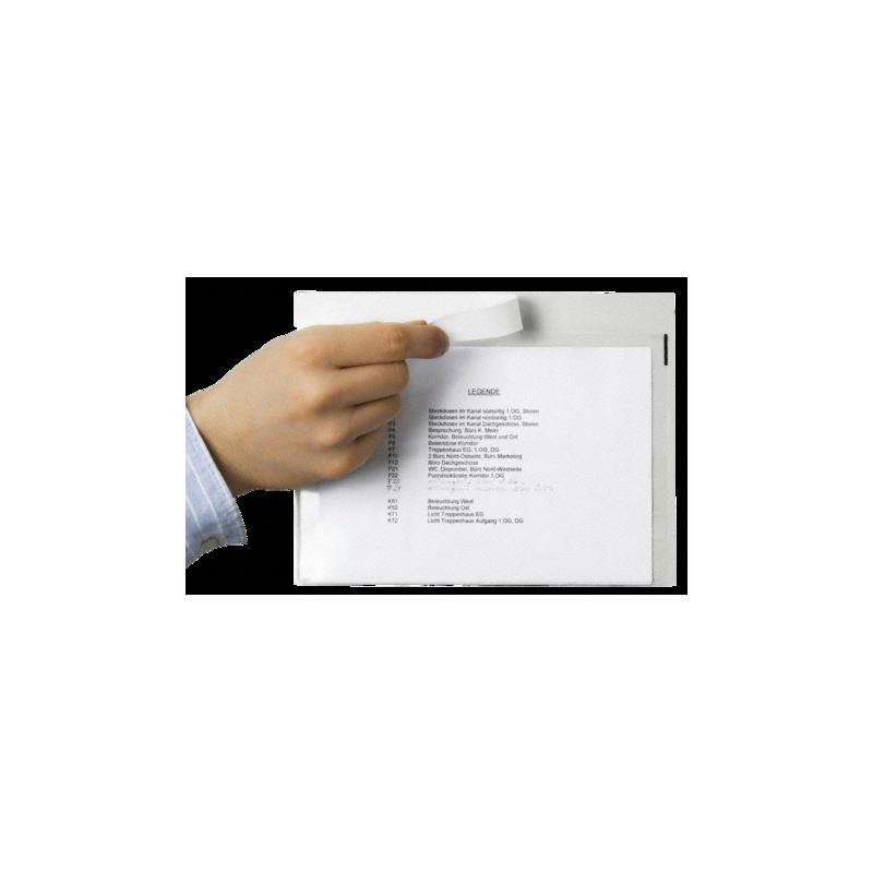 Pochette Porte-Document transparente - Tiggre.fr