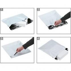Pochettes plastique opaque Aller/Retour - Tiggre.fr