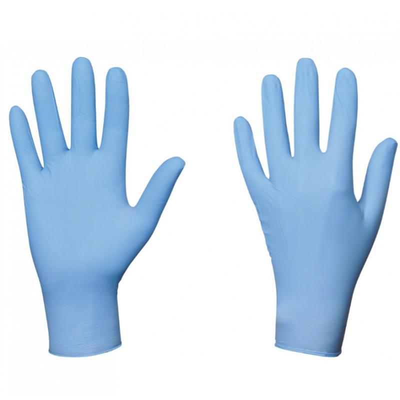 Gant nitrile bleu - Tiggre.fr