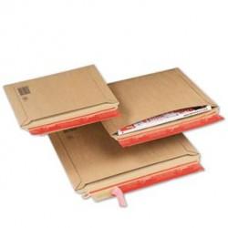Pochette carton avec fermeture adhésive - Tiggre.fr