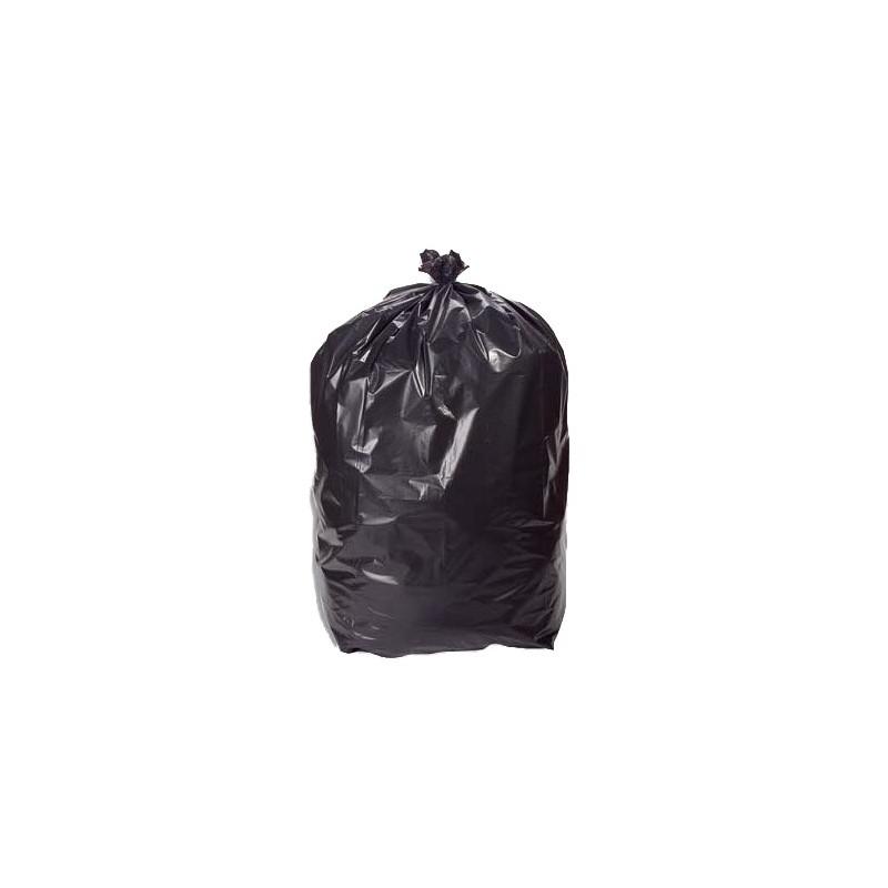 Sac poubelle noir haute résistance