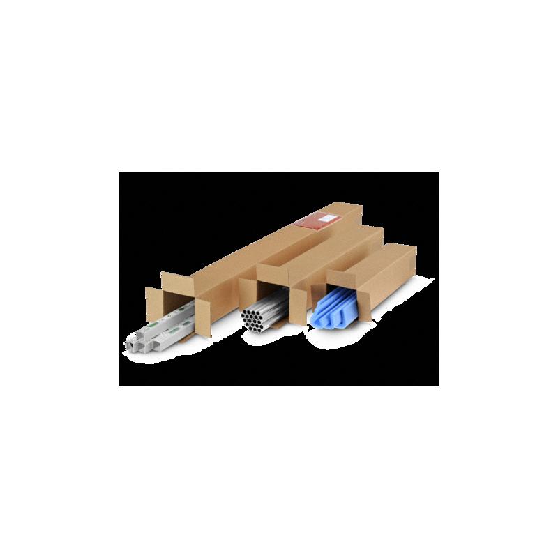 Pack de 20 Cartons Carrées simple cannelure